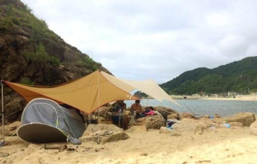 白い砂浜! 青い海! 笹川流れで海水浴~温泉へ