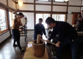 関越自動車道 六日町IC 謹賀新年!隠れ宿で餅つき体験