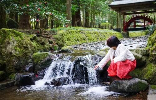 """神社と岩盤浴で心も身体もスッキリ♪春の""""スーハー""""おでかけドライブ"""